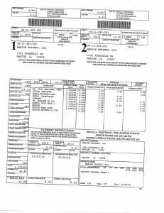 Exhibit A Tax-Bills Tax Record Cards Williamson County-illinois Il Property Tax Fraud 0540