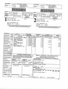 Exhibit A Tax-Bills Tax Record Cards Williamson County-illinois Il Property Tax Fraud 0542