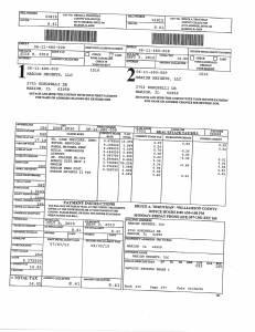 Exhibit A Tax-Bills Tax Record Cards Williamson County-illinois Il Property Tax Fraud 0548