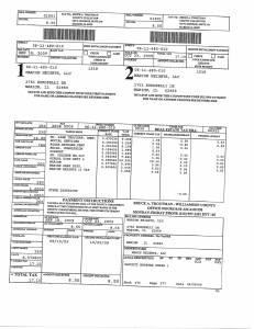 Exhibit A Tax-Bills Tax Record Cards Williamson County-illinois Il Property Tax Fraud 0572