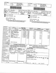 Exhibit A Tax-Bills Tax Record Cards Williamson County-illinois Il Property Tax Fraud 0577