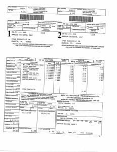 Exhibit A Tax-Bills Tax Record Cards Williamson County-illinois Il Property Tax Fraud 0581
