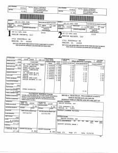 Exhibit A Tax-Bills Tax Record Cards Williamson County-illinois Il Property Tax Fraud 0583