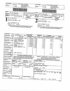 Exhibit A Tax-Bills Tax Record Cards Williamson County-illinois Il Property Tax Fraud 0585