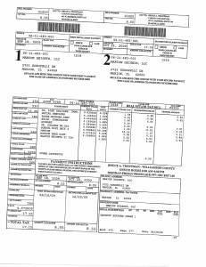 Exhibit A Tax-Bills Tax Record Cards Williamson County-illinois Il Property Tax Fraud 0591