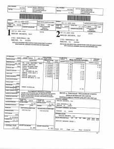 Exhibit A Tax-Bills Tax Record Cards Williamson County-illinois Il Property Tax Fraud 0606