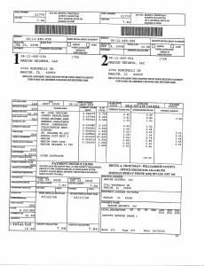Exhibit A Tax-Bills Tax Record Cards Williamson County-illinois Il Property Tax Fraud 0627