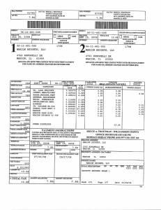 Exhibit A Tax-Bills Tax Record Cards Williamson County-illinois Il Property Tax Fraud 0641