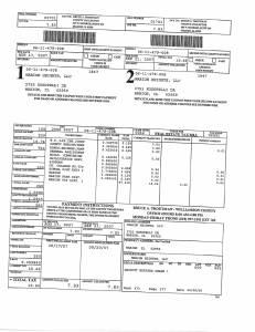 Exhibit A Tax-Bills Tax Record Cards Williamson County-illinois Il Property Tax Fraud 0664