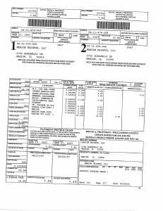 Exhibit A Tax-Bills Tax Record Cards Williamson County-illinois Il Property Tax Fraud 0665