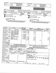 Exhibit A Tax-Bills Tax Record Cards Williamson County-illinois Il Property Tax Fraud 0671