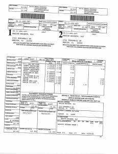 Exhibit A Tax-Bills Tax Record Cards Williamson County-illinois Il Property Tax Fraud 0672