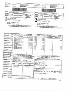 Exhibit A Tax-Bills Tax Record Cards Williamson County-illinois Il Property Tax Fraud 0684