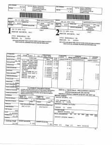 Exhibit A Tax-Bills Tax Record Cards Williamson County-illinois Il Property Tax Fraud 0692
