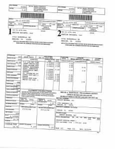Exhibit A Tax-Bills Tax Record Cards Williamson County-illinois Il Property Tax Fraud 0702
