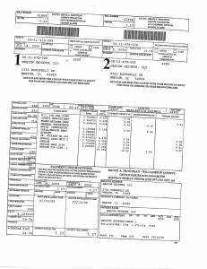 Exhibit A Tax-Bills Tax Record Cards Williamson County-illinois Il Property Tax Fraud 0706