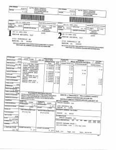 Exhibit A Tax-Bills Tax Record Cards Williamson County-illinois Il Property Tax Fraud 0711