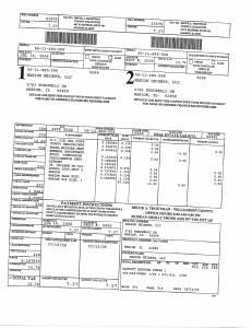 Exhibit A Tax-Bills Tax Record Cards Williamson County-illinois Il Property Tax Fraud 0713