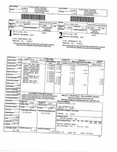 Exhibit A Tax-Bills Tax Record Cards Williamson County-illinois Il Property Tax Fraud 0725