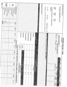 Exhibit A Tax Bill Property Tax Record Cards Williamson County-illinois Il Property Tax Fraud 0461