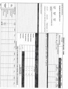 Exhibit A Tax Bill Property Tax Record Cards Williamson County-illinois Il Property Tax Fraud 0463