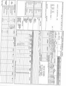 Exhibit A Tax Bill Property Tax Record Cards Williamson County-illinois Il Property Tax Fraud 0507