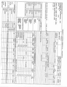 Exhibit D Propertytax Record Cards Williamson County-illinois Il Property Tax Fraud 0105